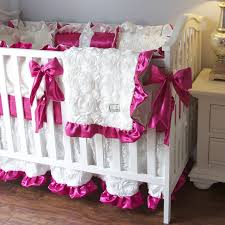 Fancy Crib Bedding Crib Bedding Ivory Roses Crib Sets For Fancy