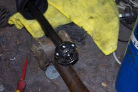 outlander 400 front half shaft and strut replacement and some