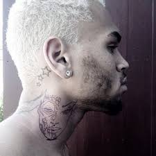 chris brown draws heat from neck