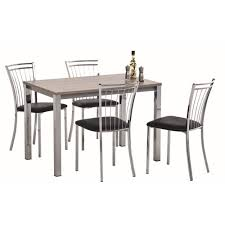 trendy ensemble table chaise cuisine meubles de idee faience