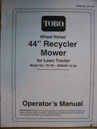 toro wheel horse lawn mower grave yard equipment used tractor
