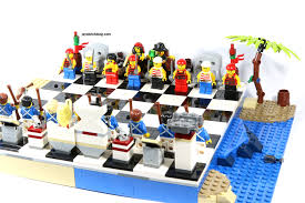 Nice Chess Sets by Review Lego 40158 Pirates Chess Set