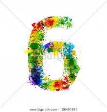 color paint splashes gradient vector u0026 photo bigstock
