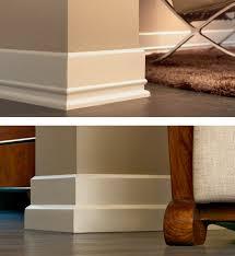 tile skirting vs wood baseboard molding nomadic decorator