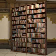 mounted bookshelf ffxiv housing furnishing