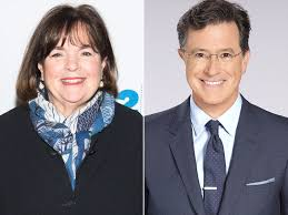 ina garten jokes stephen colbert will be star of her new cookbook