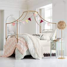 Bed Canopy Frame Amazing Maison Canopy Bed Pbteen Pertaining To Frame