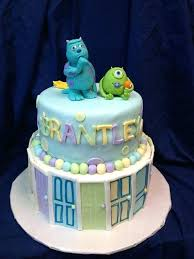 monsters inc baby shower cake sully cake topper monsters inc baby shower keepsake by on mike and