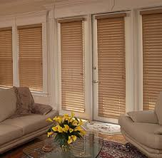 One Inch Blinds Wood Window Blinds One Inch Faux Wood Plantation Blind White