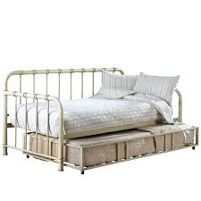 White Metal Daybed White Metal Daybed With Trundle U2013 Heartland Aviation Com