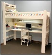 Hidden Desk Bed by Bunk Bed With Desk Ikea