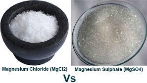 epsom salt vs table salt chloride flakes vs epsom salts