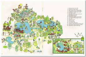 Walt Disney World Resorts Map by Imaginerding Disney Books History Links And More August 2010