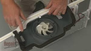 refrigerator fan noise lg refrigerator noisy evaporator fan blade 5901ja1021a youtube