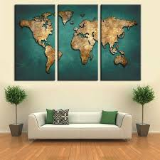 tableau pour bureau tableau deco pour bureau carte du monde mur de toile