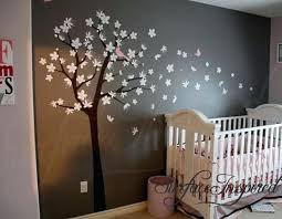 Tree Decal For Nursery Wall Cherry Blossom Tree Wall Decal Nursery Zebragarden Me