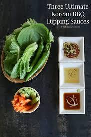 three ultimate korean bbq dipping sauces my korean kitchen