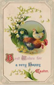 best wishes for a very happy easter 1910 u2013 wings of whimsy