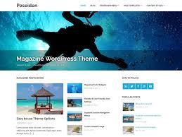poseidon u2014 free wordpress themes