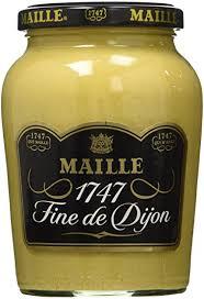 gourmet mustard maille dijon mustard jar 13 4 oz maille djon