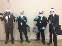 Payday Halloween Costume Masks Payday Picture Heavy