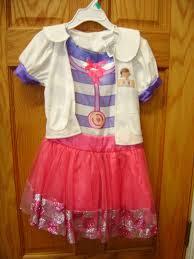 doc mcstuffins costume disney size 3t 4t doc mcstuffins dress costume enkore kids