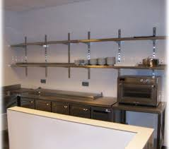 etagere murale inox cuisine etagère suspendue en inox tout sous la nys machinery