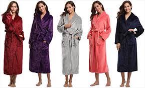 robe de chambre polaire femme aibrou peignoir femme velours robe de chambre polaire femme chaud
