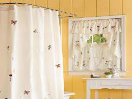 Kitchen And Bath Curtains by Brilliant Small Bathroom Window Curtains And Bathroom Curtain