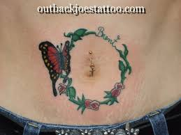 collection of 25 butterfly vine on stomach for