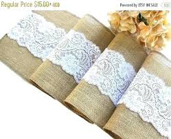 natural burlap table runner eggplant table runners colored burlap table runners on sale natural