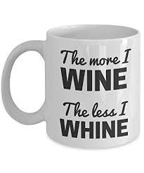amazon com snarky coffee mug the more i wine the less i whine