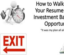 Walk Me Through Your Resume Example by Investment Banking Interview Guide The Best Guide On The Planet