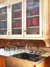 chicken wire cabinet door inserts wire inserts for cabinet doors best chicken wire cabinets ideas on