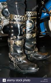 style motorcycle boots german style motorcycle boots on display at the harley davidson