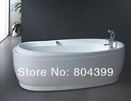 Free Standing Jacuzzi Bathtub B516 Bath Tub Oval Freestanding Bathtub Indoor Whirlpool Tubs