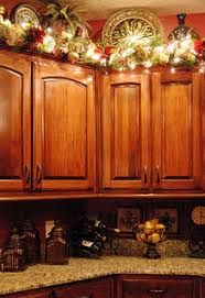 Decorations For Above Kitchen Cabinets Perfect For Christmas Above The Cupboard Decor Except I U0027d Have To