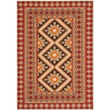 red outdoor rugs rugs the home depot