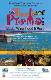 Pismo Beach Map Taste Of Pismo Classic California