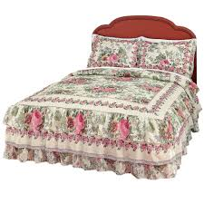 bed pillows decor upholstered headboard with ruffle bedding and bed pillows