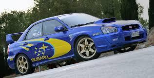 subaru rally 2003 subaru impreza wrx sti rally car