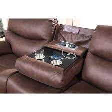 Recliner Fabric Sofa Pulaski Reclining Fabric Sofa Costco Jedd Dual Power With Drop