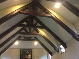 cathedral ceiling faux workshop