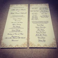 Custom Wedding Programs Programs U2014 Best Dallas Wedding Planning And Custom Wedding Invitations