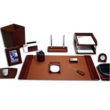 Desk Sets And Accessories Leather Desk Accessories Leather Desk Accessories Leather Desk