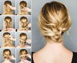 Hochsteckfrisurenen Glattes Haar by Mer Enn 25 Bra Ideer Om Hochsteckfrisuren Für Mittellanges Haar På
