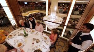 Main Dining Room Harmony Of The Seas Main Dining Room B Roll Royal Caribbean