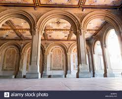 Arcaid Images Stock Photography Architecture by Minton Tile Ceiling Bethesda Terrace Arcade Jacob Wrey Mould