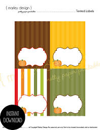 pumpkin buffet cards tented labels thanksgiving place cards