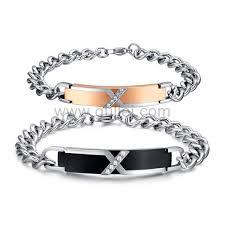 engraveable gifts engravable unique couples bracelets christmas jewelry gift for 2